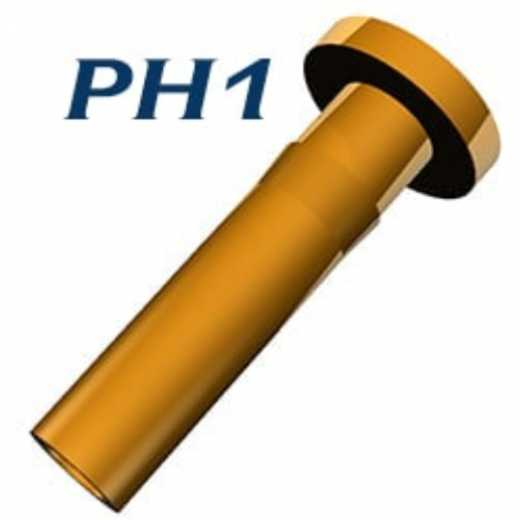 PH1 Interface Pins and solid pins