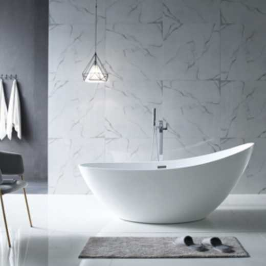 Made in China Hot Sale Acrylic Freestanding Bathtub High-end Europe and America Standards Manufacturer