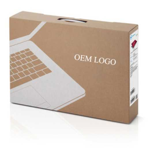 corrugated laptop packaging box custom size and logo