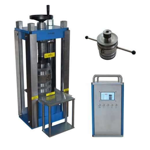 Desktop electric cold isostatic pressing machine for material research lab