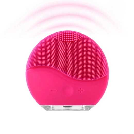 Sonic Facial Cleansing Brush with Massage Function