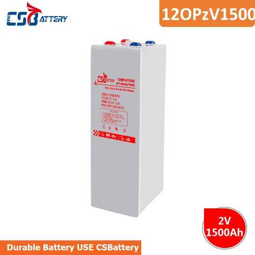 Csbattery 2V1500ah Long-Life Rechargeable Battery for Freezer/Inverter/Pressure-Tanks/Centrifugal-Pumps/Vs: Fiamm/Leoch