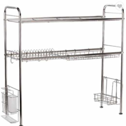 Stainless Steel Kitchen Over Sink Dish Drying Rack