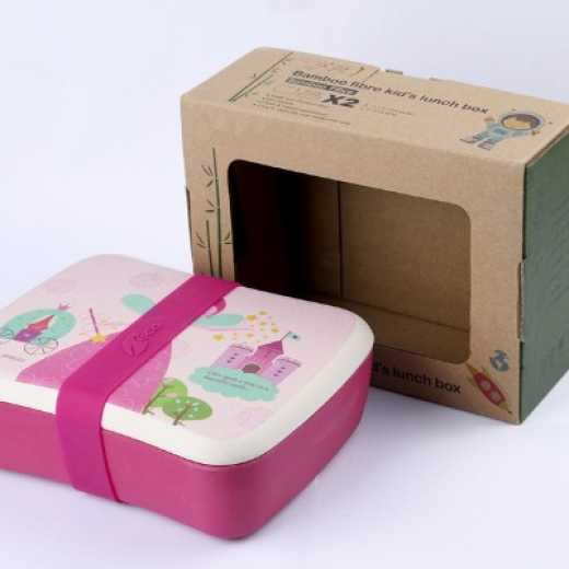 OEM Bamboo reusable eco friendly canister lunch box container
