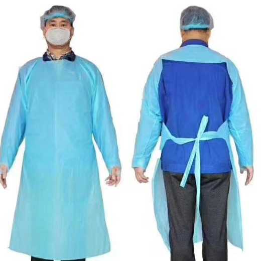 Fda Cpe Disposable Isolation Medicle Use Gowns - China