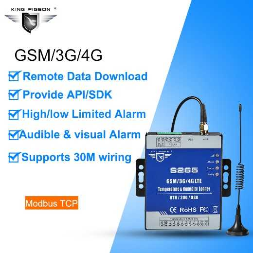Cellular temperature and humidity monitoring alarm for remote industrial site and agricultural IoT solution
