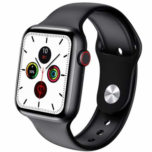 W26 Smart Watch Series 6 1.75 inch Full Touch Screen ECG PPG Heart Rate Monitor Bluetooth Call Body Temperature Smartwatch