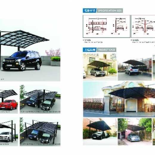 CR type aluminum alloy shed