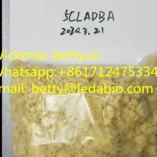 Strong cannabis 5cl-adb-a yellow smooth powder 5CL-ADB-A high purity  Wickr:bettyuu