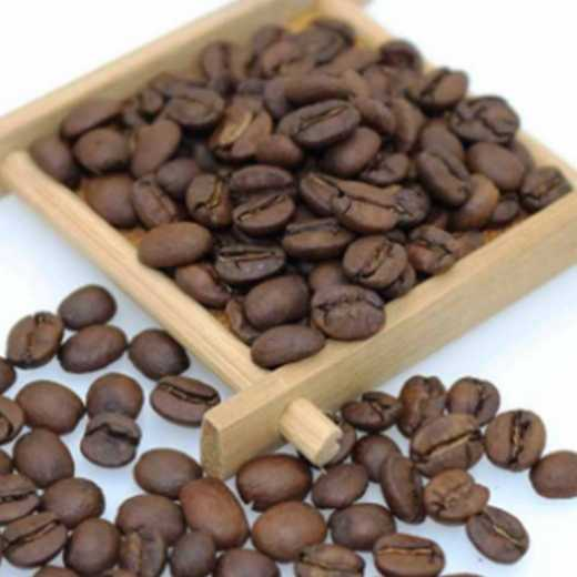 Dried arabica coffee beans