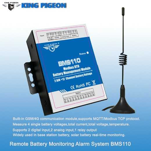 Remote Battery Monitoring Systems
