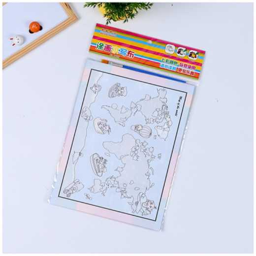 Magic water Sketch book For kindergarten children's manual creativity can be used to make a painting doodle book with water