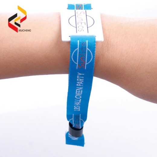 NFC NTAG213 Polyester Wristbands
