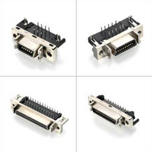 mdr scsi connectors,micro d sub connectors customized from China