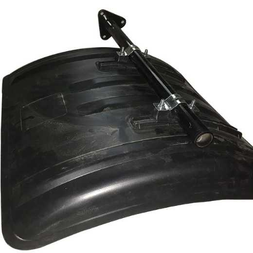 truck tailor rubber plastic black mudguard for semi truck