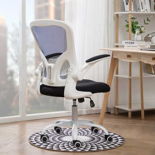 Chair waves computer chair household student book desk chair lift swivel office staff chair