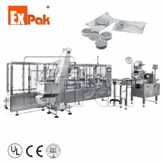 Four Lanes Lavazza point Coffee Capsule Production Line