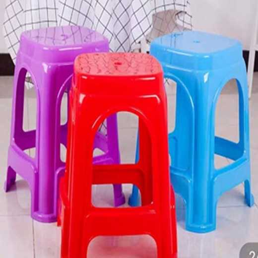 Square stool set stool