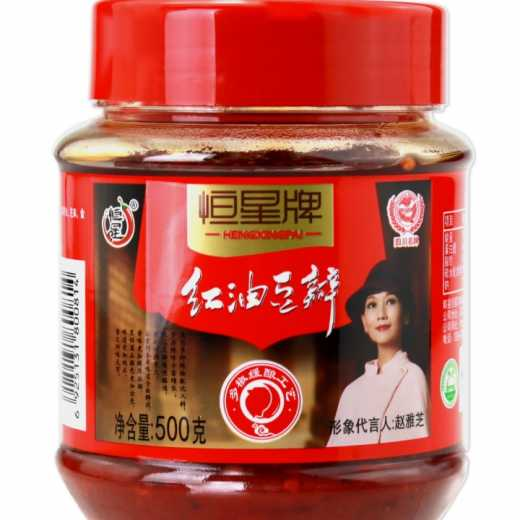 High quality best selling red oil douban sauce chili douban sauce
